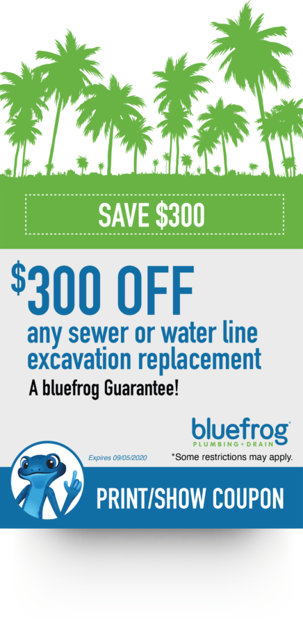 Orange County, CA Sewer or Water Line Excavation Replacement