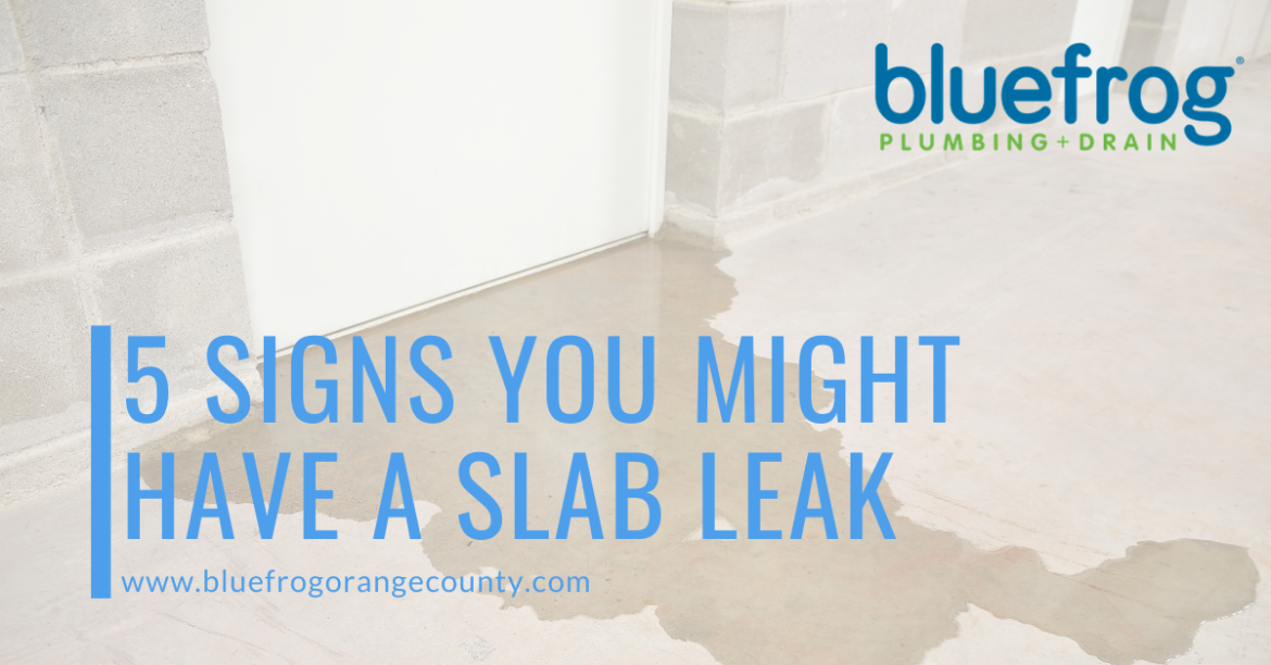 5 Signs You Might Have a Slab Leak
