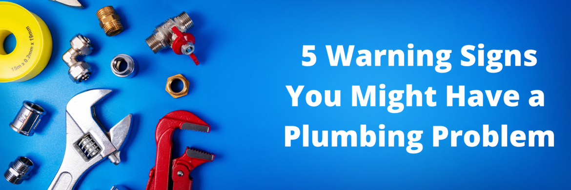 Plumbing Problems: 5 Warning Signs You Might Have One