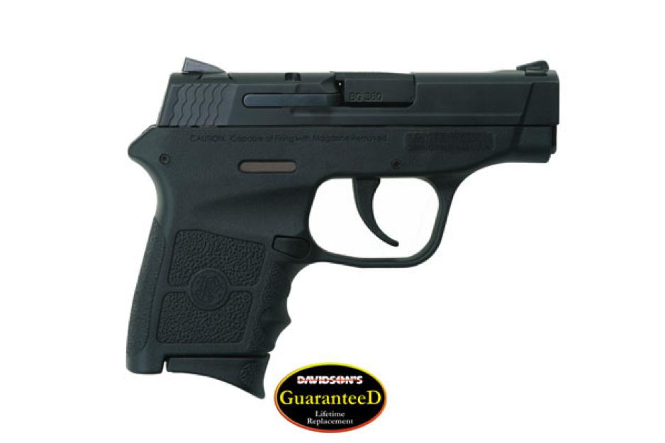 Smith and Wesson handgun black matte finish