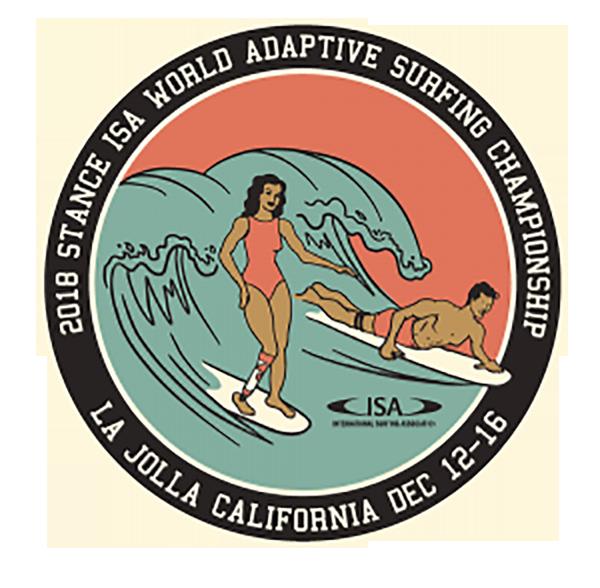Stance ISA World Adpative Surfing Championship Logo