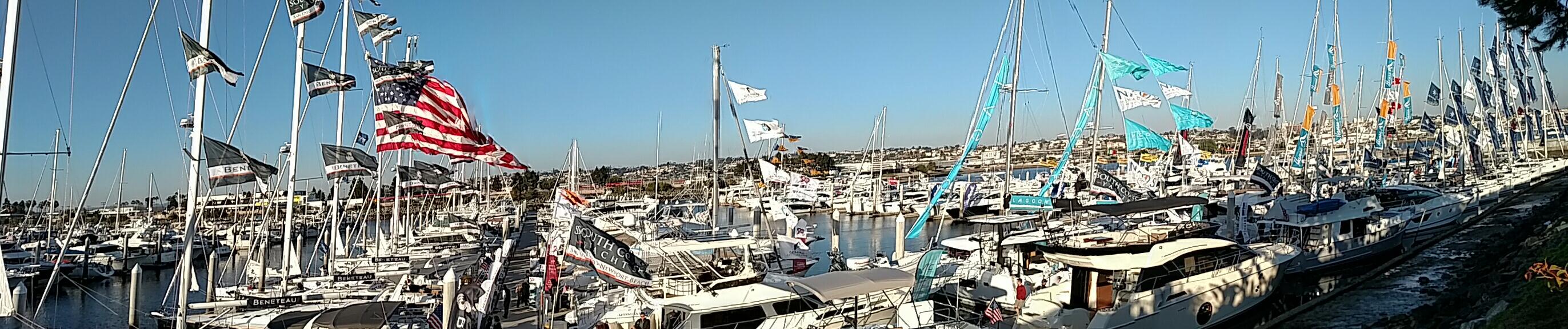 SD Sunroad Marina Boat Show