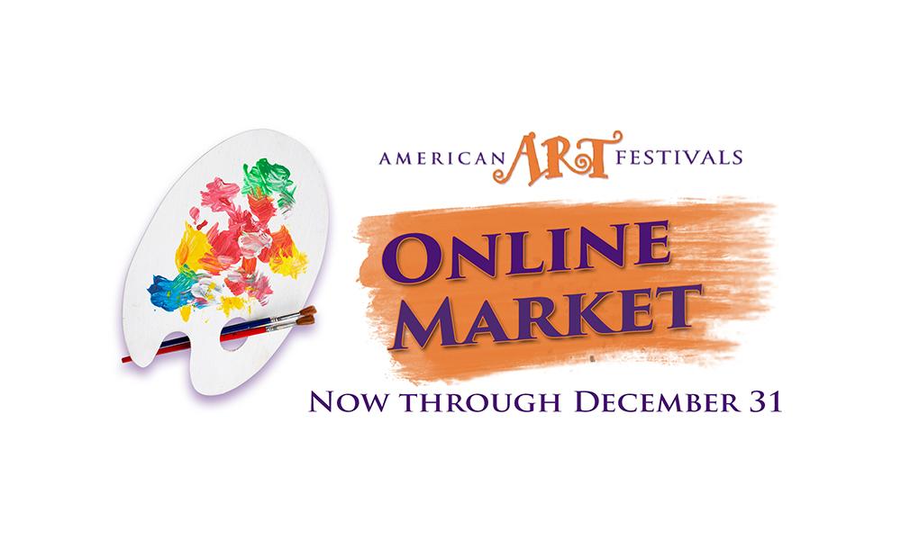 American Art Festivals Online Market Logo