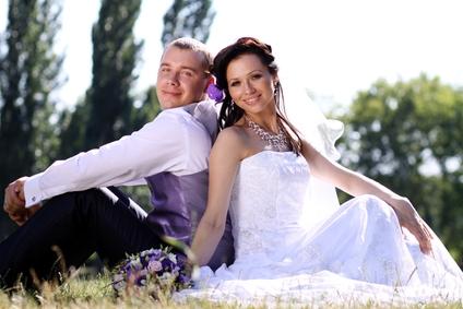 Bride and Groom Wedding Planning