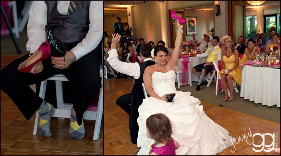Wedding Shoe Dance