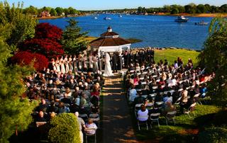 Danversport Yacht Club Wedding Ceremony