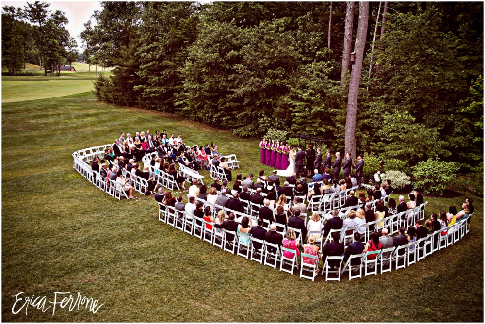 Wedding Ceremony - Renaissance Golf Club Haverhill