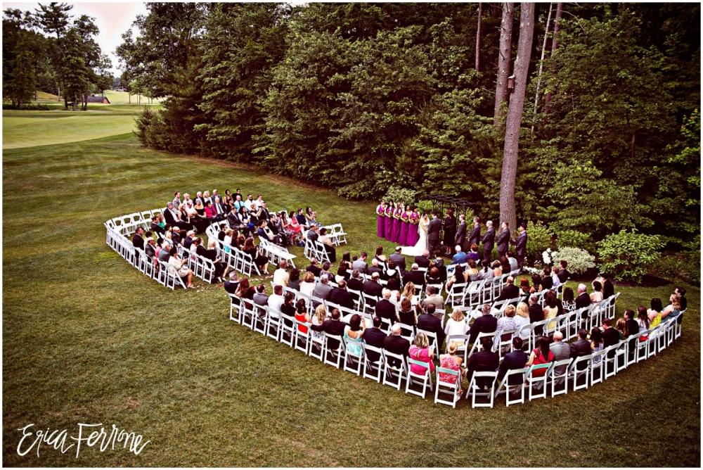 Wedding Ceremony - Renaissance Golf Club Haverhill
