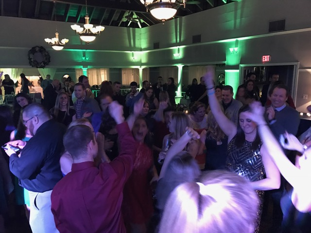 Dance Floor at Fairways at Woburn Country Club