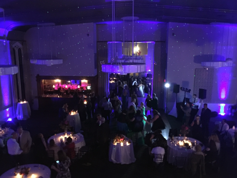 Wedding at Steeple Hall Mission Oak Grill