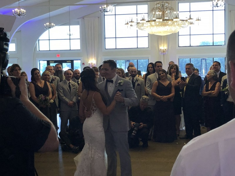 Danversport Yacht Club, Danvers MA Wedding of Mike and Maria
