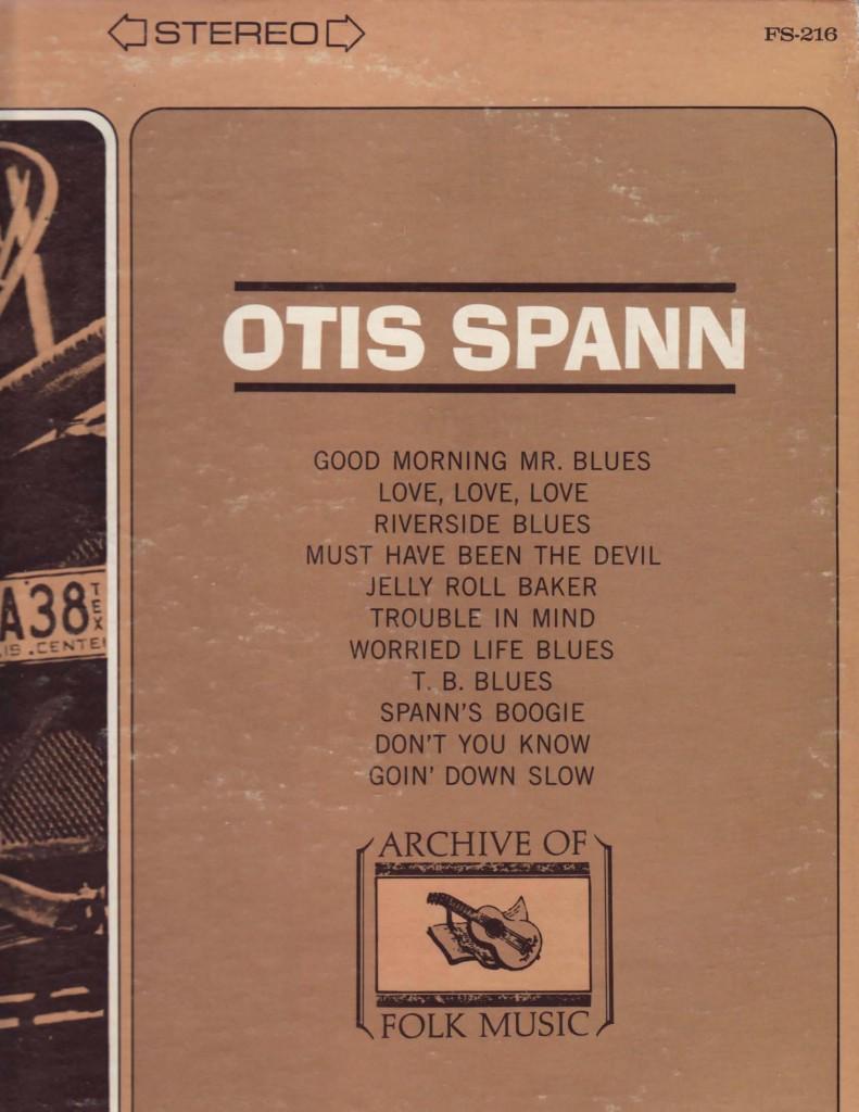 Otis Album Cover