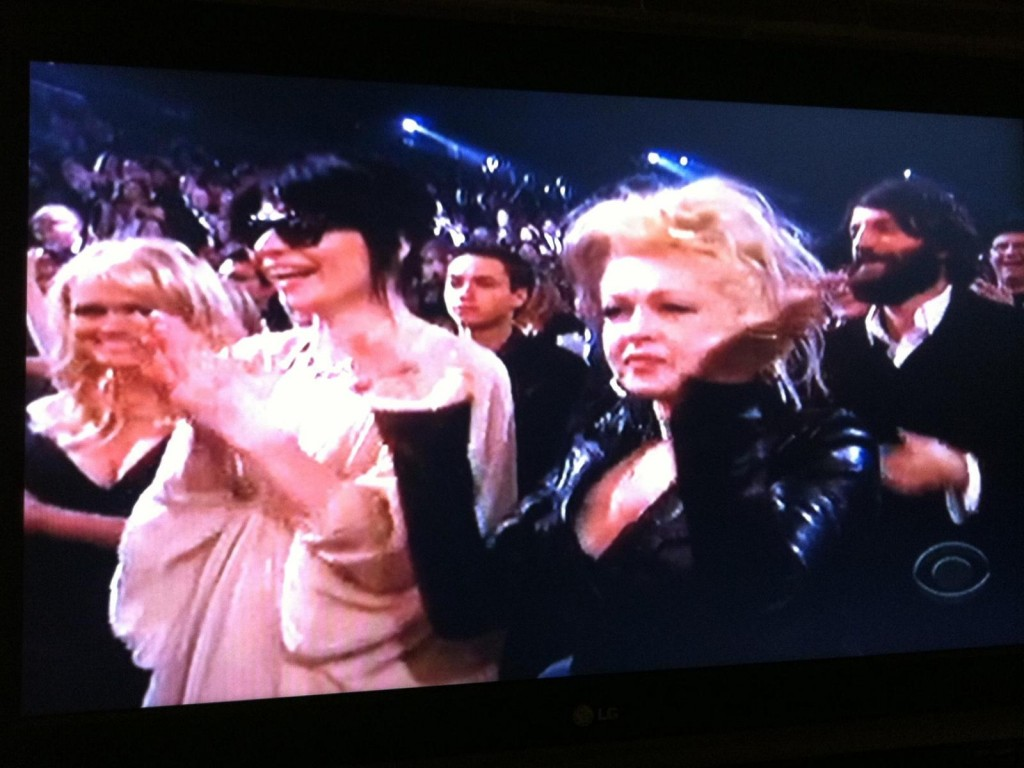 Steph and Cindy Lauper