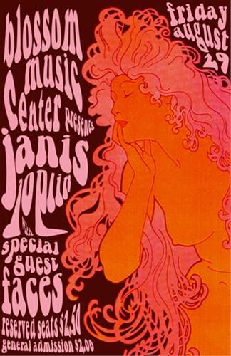 Janis Joplin poster 1969