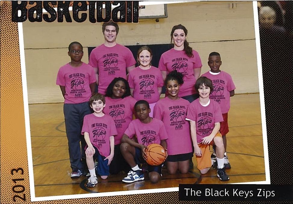 Black Keys Zips