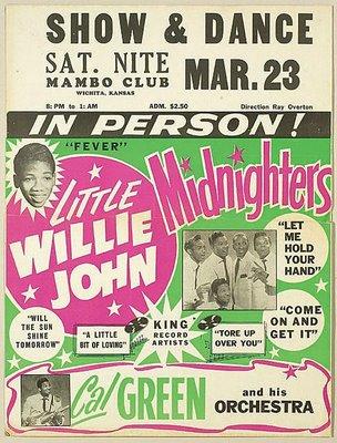 Little Willie John-poster