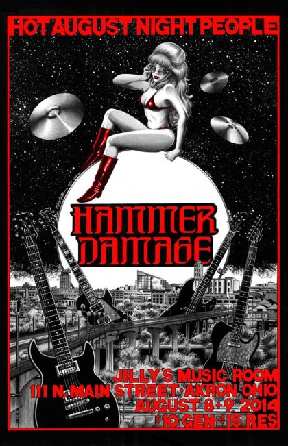 Hammer Damage poster