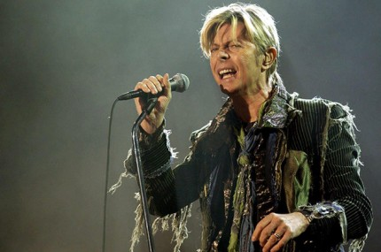 Bowie during the 2004 Reality tour