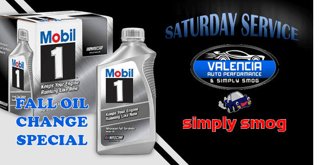 Valencia Auto Performance & Simply Smog – Saturday Service