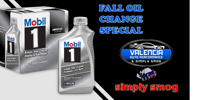 Get a Sweet Oil Change Deal – Valencia Auto Performance