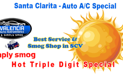 A/C Challenged? Summer Deal at Valencia Auto Performance