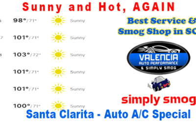 Auto A/C check up by the Pros   Save $50.00   Hot Hot Hot