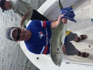Large Jack Crevalle St Petersburg Fishing
