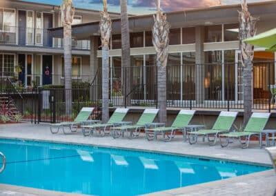 Summerwood apartments pool area
