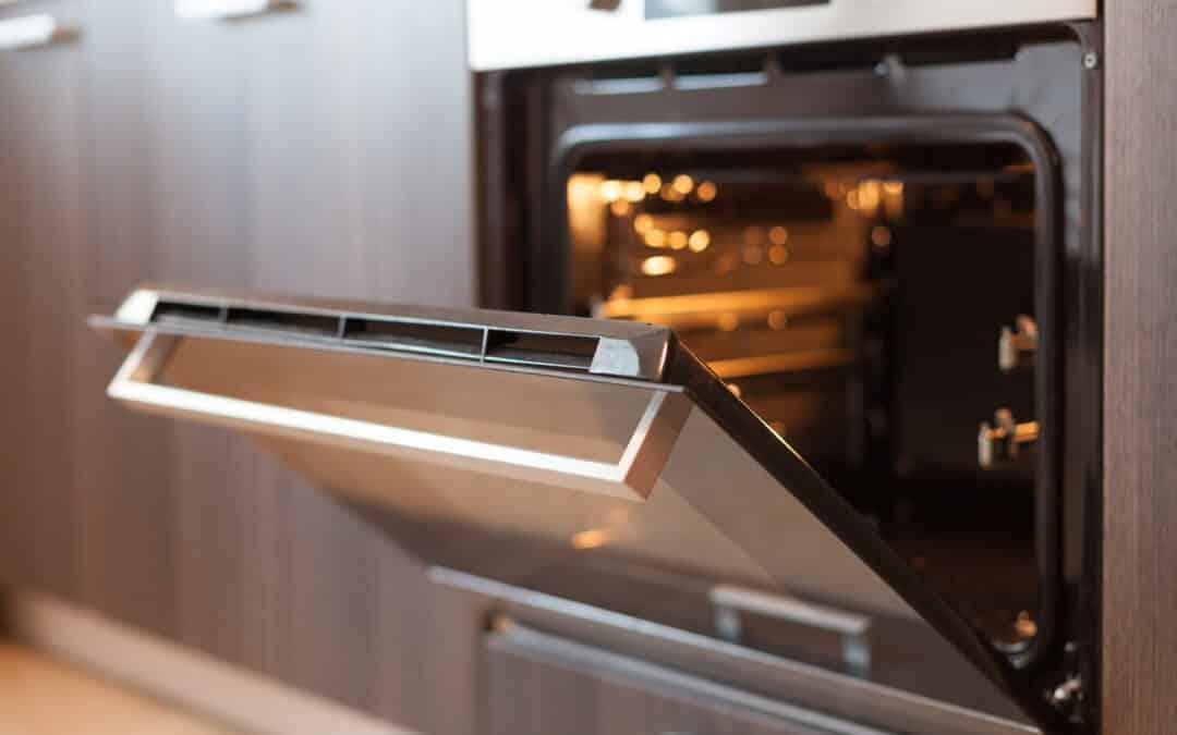Kitchen metal oven