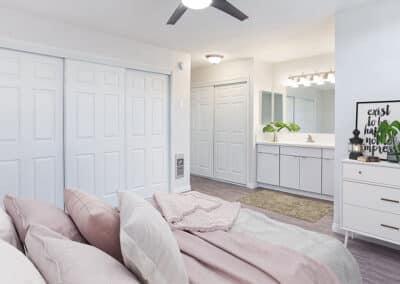 Furnished Master Bedroom at Summerwood