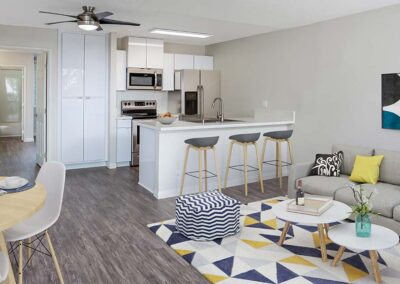 Summerwood Kitchen and Living Room