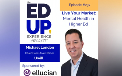 Uwill CEO Michael London featured on The Ed Up Experience Podcast