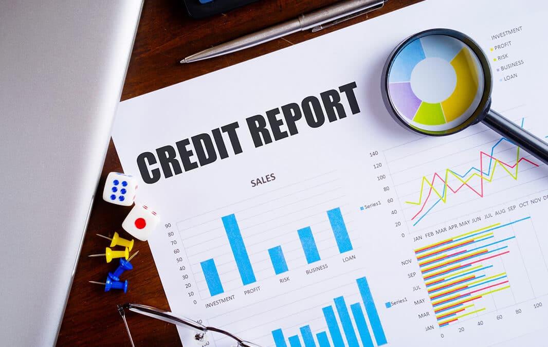 Credit report document