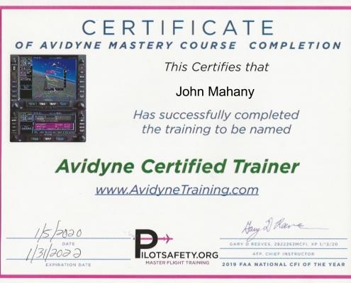 Avidyne Training ROT