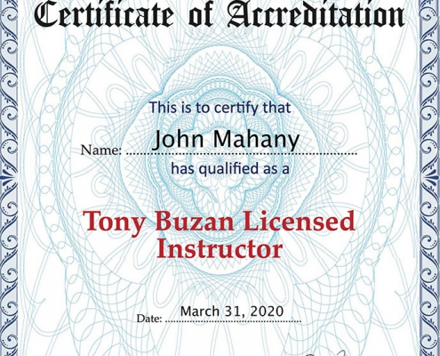 Certificate-John-Mahany