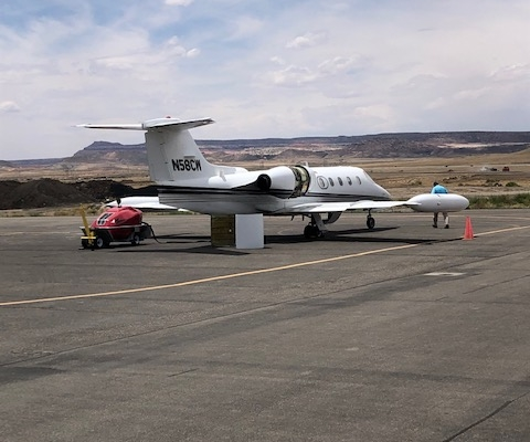Mahany_Learjet