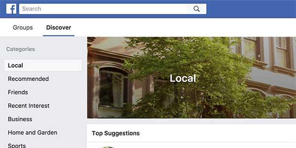 Local Facebook Groups