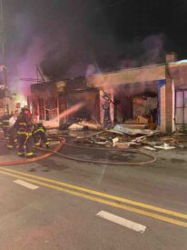 Naim Matariyeh's store was burned to the ground by arsonists during Black Lives Matter protests that turned violent. Looting, violence and arson framed the riots in the wake of the George Floyd killing May 25, 2020. Photo courtesy of Naim Matariyeh