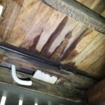 Water leaks through to subfloor, bathroom needs resealing and waterproofing