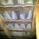 Evidence of water leaks through to roof space, roof needs repair