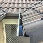Insufficient fall to gutters, risk of rust to gutters