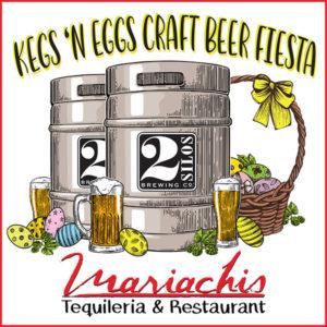 KEGS'N EGGS CRAFT BEER FIESTA - MARCH 31st @ Mariachis Tequila & Resaurant   Manassas   Virginia   United States