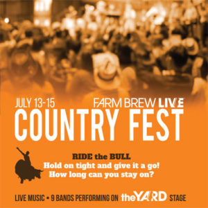 COUNTRY FEST JULY 13-15