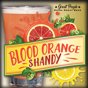 NEW: BLOOD ORANGE SHANDY @ 2 Silos Brewing