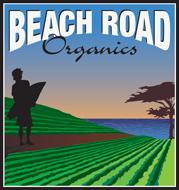 Beach Road Organics logo.