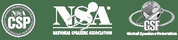 Speaker Associations logos