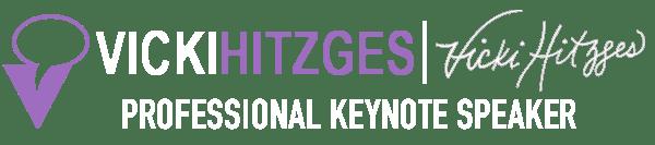 Vicki Hitzges professional keynote speaker logo