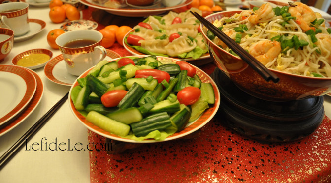 Quick & Easy Overnight Pickled Cucumbers Recipe (for Chinese New Year or Anytime)