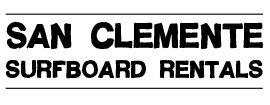 San Clemente Surfboard Rentals
