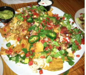 nachos belly timber